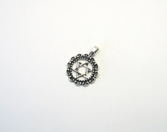 Beautiful star of David Hexagram pendant
