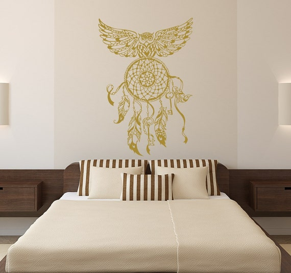 Dream Room For Decor Ideas: Dream Catcher Decal Owl Wall Decals Bedroom By LollipopDecals