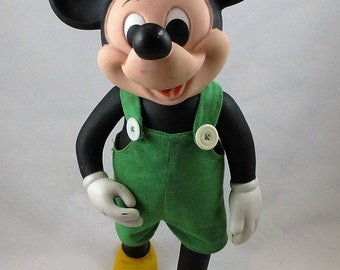 1977 Mickey Mouse Doll - Walt Disney Remco Toys