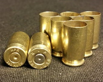 Bullet Casing Rounds* Cleaned* 9mm,.40,or .45