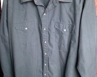 Vintage Ely Cattleman Button-down Shirt