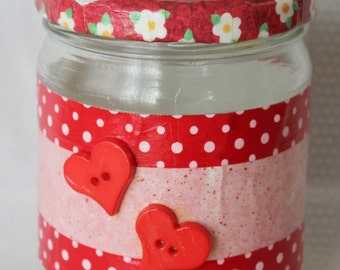 Sweetheart Storage Jar