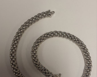 Sterling Silver .925 Italian Necklace