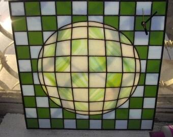 Sphere Geometric Clock / Gift for Her