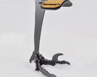 Raptor Headphone Stand by Theropod Metal Works