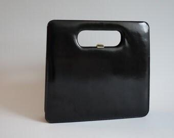 Rigid vintage handbag