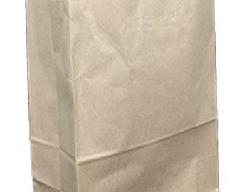 Pack 25 handled Kraft paper bag,13x6x15.74,Kraft gift bags,Kraft shopping bags with handles,small paper gift bags,brown paper bags