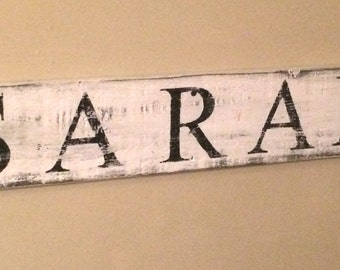 Hand crafted, wooden sign, distressed, farmhouse sign, wedding gift