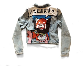 RED PANDA denim jacket