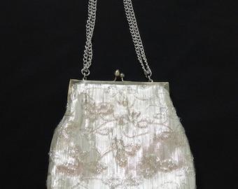 Vintage Silver Evening Bag