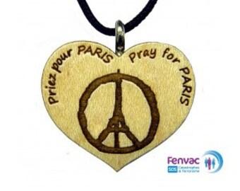 """Pendant """"Pray For Paris '""""Pray for Paris"""""""