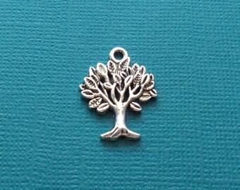 10 Tree of Life Charms Silver - CS2520