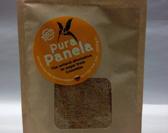 Pura Panela: Organic, 100 % natural alternative to processed sugar.  No chemicals or additives.  From Colombia to the world.