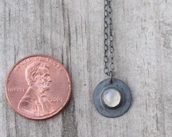 Mini Moonstone Necklace