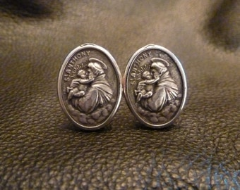 St. Anthony Cuff Link