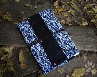 blue softbook, softbook, forest softbook, softbook with plants, romantic softbook