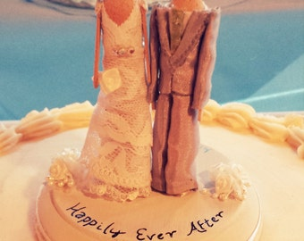 Clothespin Doll Cake Topper