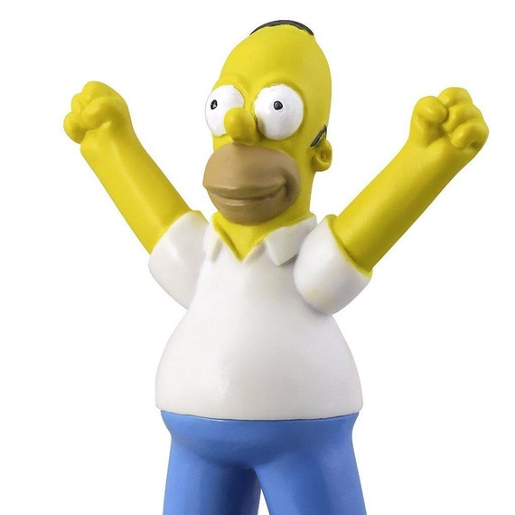 Simpsons Figurine Cake Topper