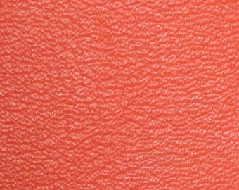leather coupon true color tangerine