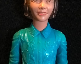 "Marx Best of the West cowgirl 9"" tall Janice West vintage 1967"