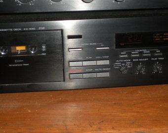 Yamaha KX-530 Hi-Fi Stereo Cassette Deck Player/Recorder