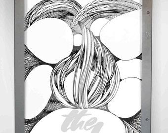 Art print - The sinking fire