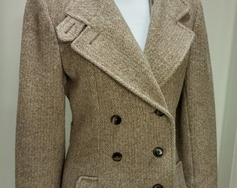 Vintage 1950's Tweed Coat