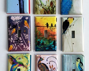 Trees And Bird Themed Light Switch and Outlet Plates 2/2