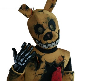 Five nights at Freddy's springtrap mask spring bonnie