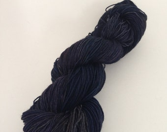 Hand Dyed Yarn - Deep End of the Ocean