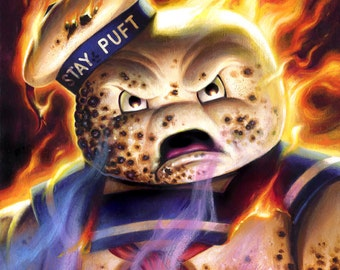 Stay Puft Marshmallow Man - (Print/Poster)