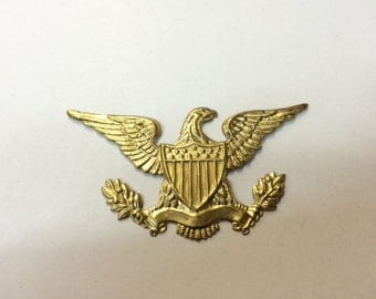 Brass Stamping - American Eagle - Single