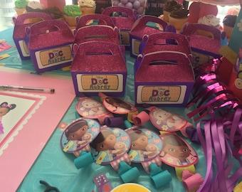 Doc Mcstuffins Personalized Party Boxes