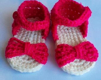 Pink sparkle sandals