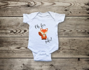 for fox sake animal pun baby grow