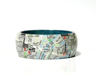 Bangles HAMBURG St.Pauli Klosterwall city map