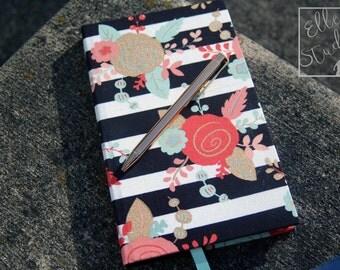 Handbound Hard Cover Journal   Custom Journal Notebook or Sketchbook