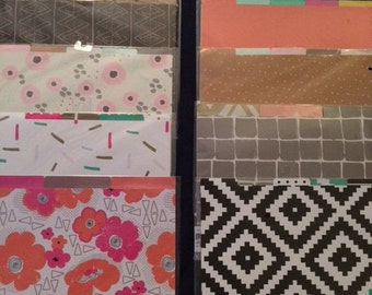 Colorful File Folders, Planner Inserts, Target Dollar Spot Stationery