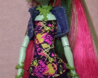 OOAK Venus Monster High Doll