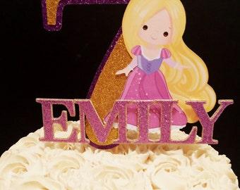 Rapunzel Inspired Cake Topper