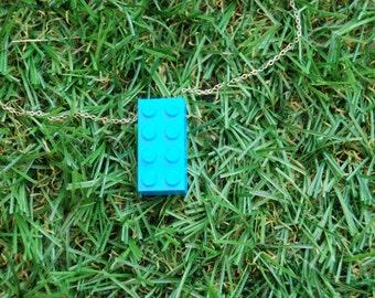 Bright Blue Brick 2x4
