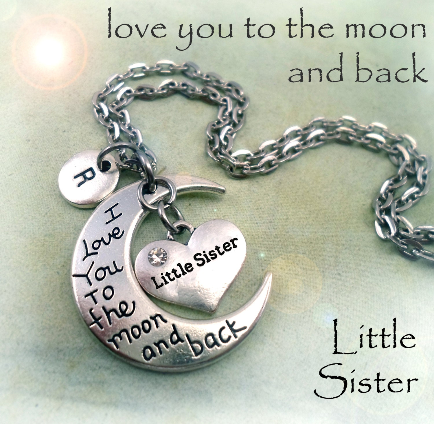 Love You Sis Hawa: Little Sister I Love You To The Moon And Back By