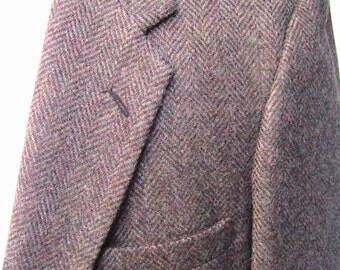 Size 44 Herringbone Sport Coat  Wm F. Farah