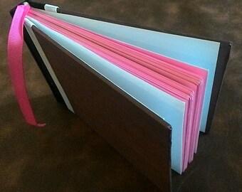 Brown & Pink Journal