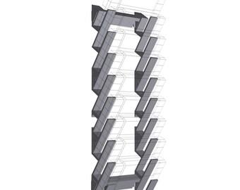 3D Printed SNES Cartridge Storage / Display System
