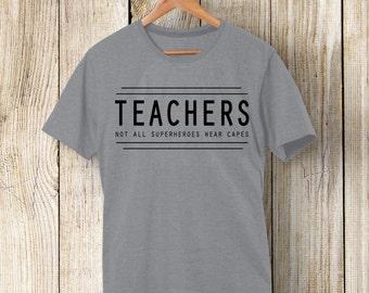 Teacher-Superhero T shirt