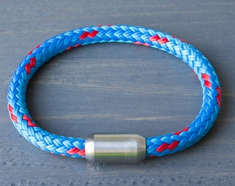 Rope Bracelet Blue | Bracelet Sailing Rope | Men Bracelet