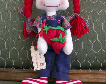 Mary Strawberry, Primitive Raggedy Ann
