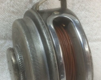 Kalamazoo Tackle Co. No. 1697 Model D Fly Reel Miracle Silent Automatic
