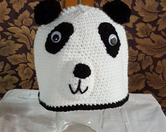 Child's Panda Cap